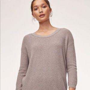 NWOT White/Ivory Aritzia Balzac Sweater